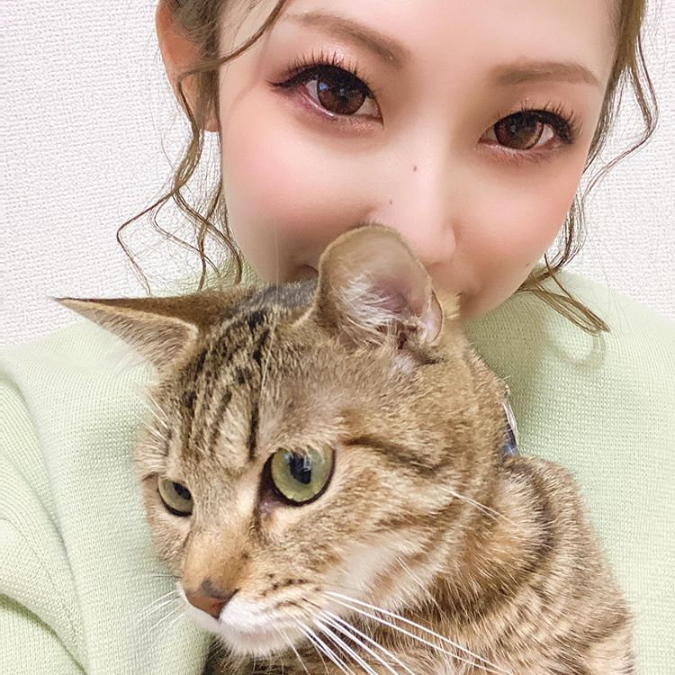 Her name is nyan😸❤️page-visual Her name is nyan😸❤️ビジュアル