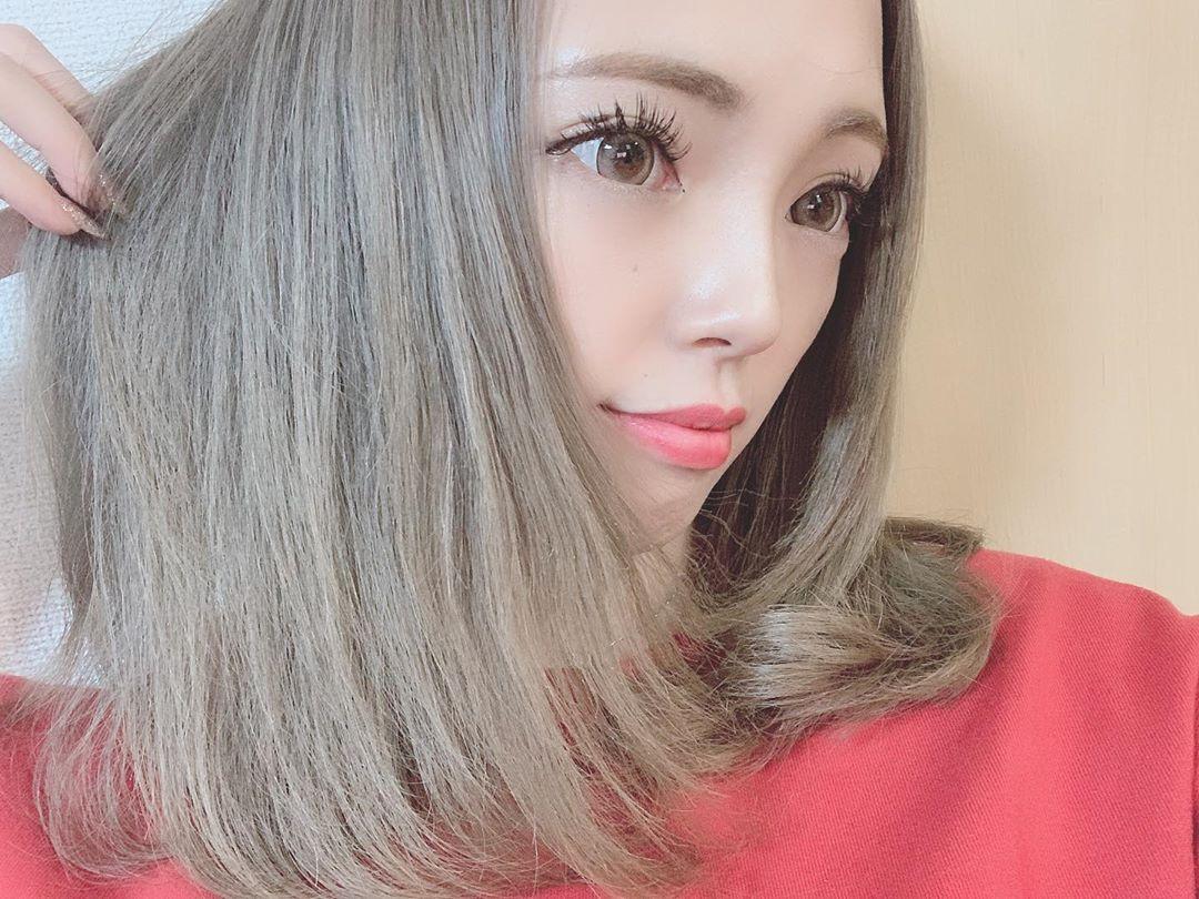 何年ぶりかの明るい髪色〜🌸page-visual 何年ぶりかの明るい髪色〜🌸ビジュアル